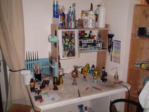 Mon 1er atelier - Petit et peu fonctionnel mais d'une grande aide !