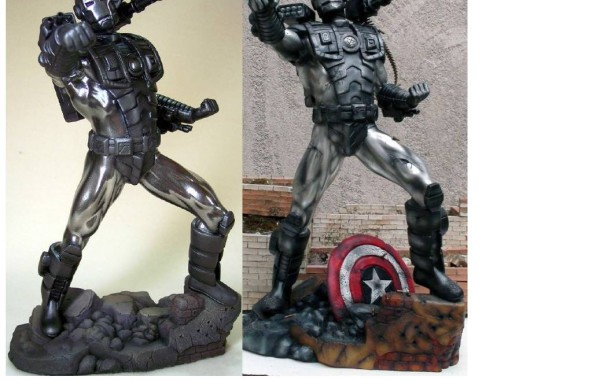 War Machine Statue Resin kit