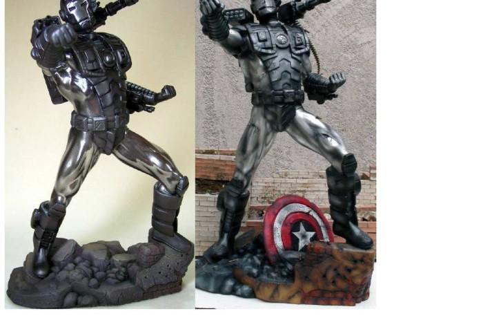 War Machine Statue Resin kit