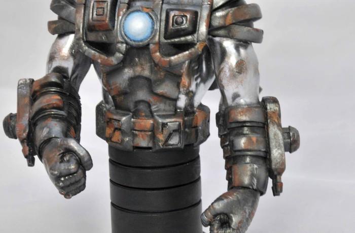 War Machine Damage & Rusty