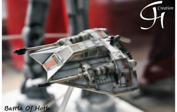 Battle of Hoth – Star Wars Diorama