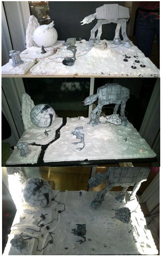Decors Diorama SW2